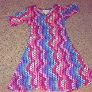 LulaRoe Kids Slinky dress!